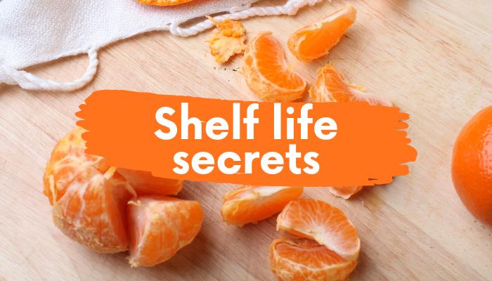 Shelf life secrets